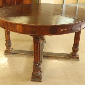 Антикварный-раздвижной-стол-из-красного-дерева